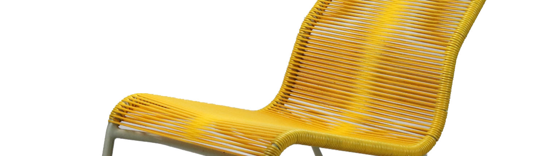 tubular rocking chair