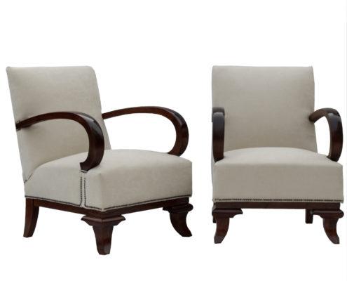 l kozma armchairs