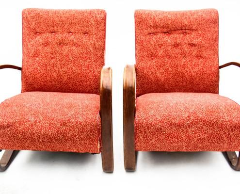 Halabala armchairs