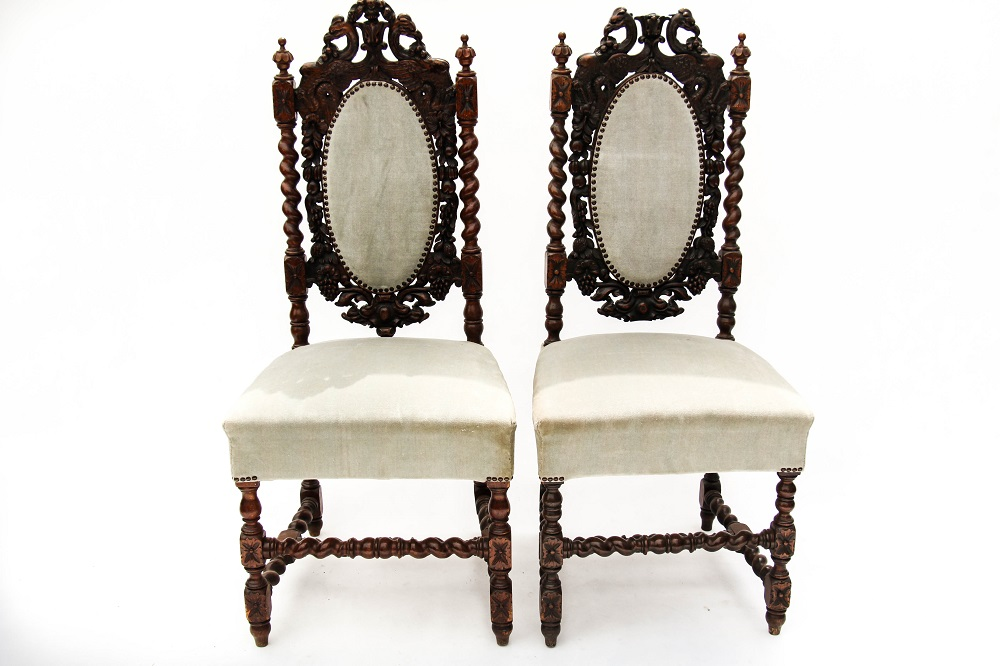 RENAISSANCE CHAIRS Period: 18´th CENTURY