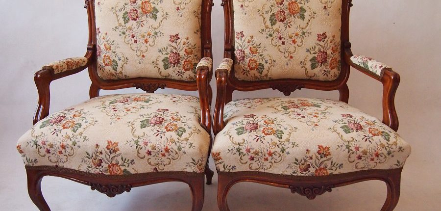 BAROQUE FRENCH ARMCHAIRS